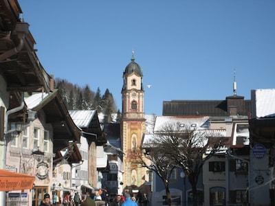 Fussgängerzone in Mittenwald