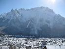 Blick Richtung Karwendelmassiv