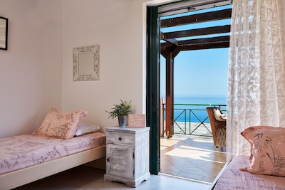 breathtaking  sea views from all bedrooms