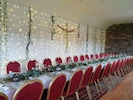 Function Room set up for a small wedding