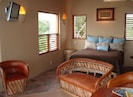 Master bedroom with balcony with great ocean view