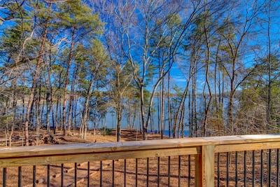 Big deck, great views