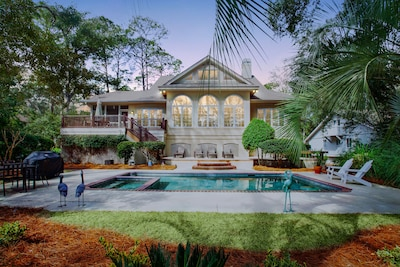 THIS IS PARADISE ! SECOND HOUSE TO THE BEACH, ON A PRIVATE BEACH PATH, LARGE U