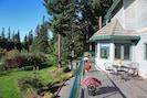Enjoy outdoor dining on expansive decks