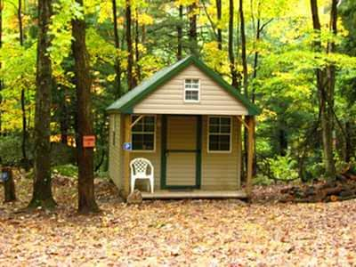 Rustic, Furnished Cabin W/ Electricity Surround By Trees & Whitewater Streams
