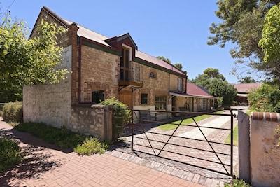 Angas Plains-wijngaard, Langhorne Creek, South Australia, Australië