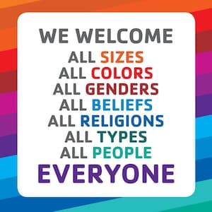 ALL ARE WELCOME HERE!