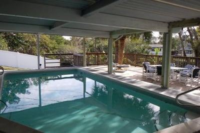 Covered Inground Pool (Can be Heated)