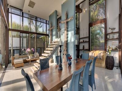 Luxury 5Bed Closed Living Space, Canggu;