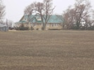 Farmhouse and fields