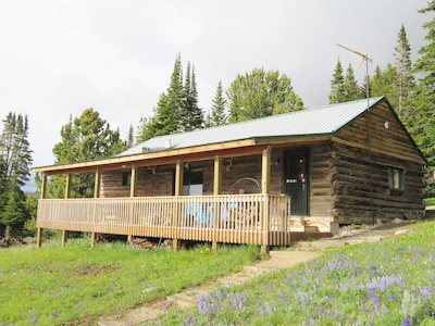 A Western Rose Cabin, Shell, WY