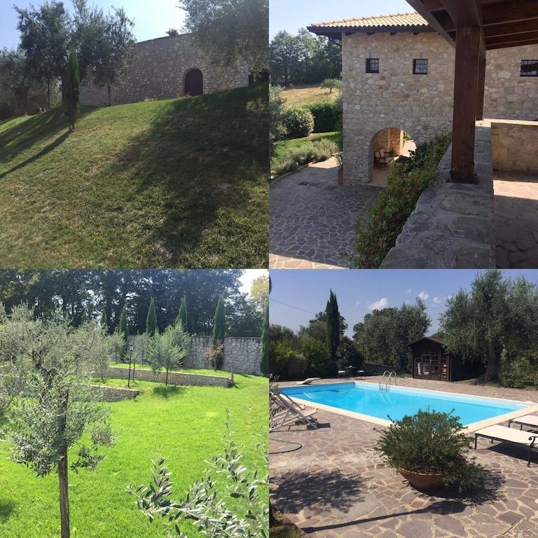 Casale in pietra viva con cantina e piscina - Montefalcione