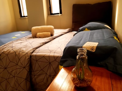 Private Room,Double bed.Maximum 3 to accommodate.