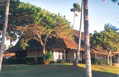 Molokai 2A - Your cottage by the sea! Taken from the sandy beach!