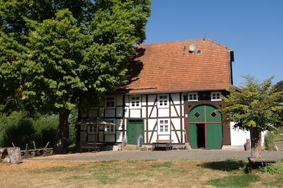 Urlaub in einer 180 Jahre alten Mühle