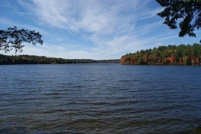 Halfmoon Lake, Alton, Barnstead, New Hampshire, United States of America
