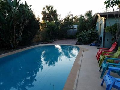 Large Backyard Pool