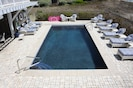 Large Private 14' x 28' pool (heated)