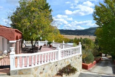 Casa rural (alquiler íntegro) La Noguera para 10 personas
