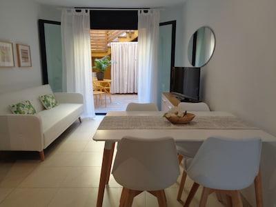 Palamós: Apartamento a 30 metros Playa Gran de Palamós-céntrico. Internet-Fibra