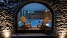 piscine vue de l'extérieur