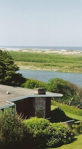 Private and serene back yard---watch birds and sea otters on the Mad River