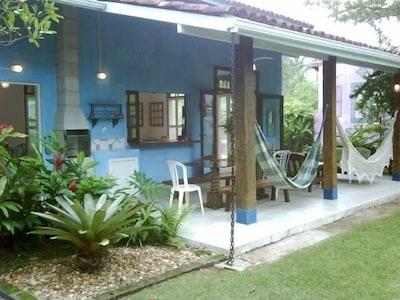 Conforto em Casa Deliciosa na Vila da Barra do Una  Toda Para  o Encontro