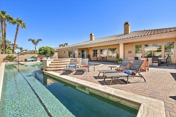 Coachella Valley Tuscan Style Luxury Home 25m Private Lap Pool Official La Quinta California Ca Usa