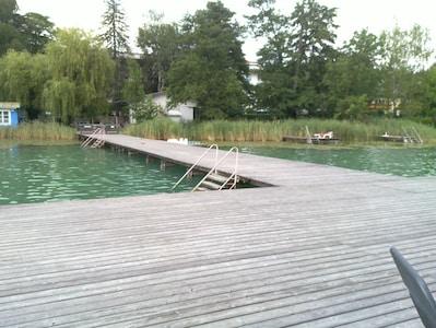 Lake Turner, Sankt Kanzian am Klopeiner See, Carinthia, Austria