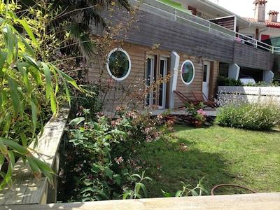 Terrasse/jardin côté Est