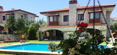 Stone villa Alacati