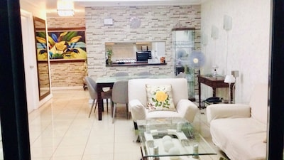 Hallway, Dining and Livingroom