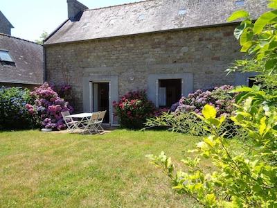 La maison sur le jardin