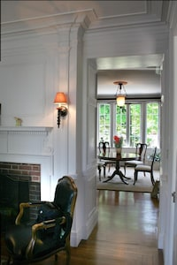 Serene and spacious main level dining room