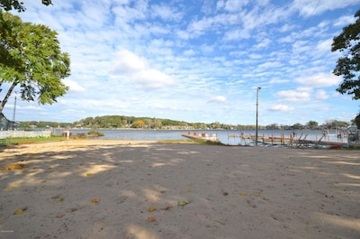 Coles Park @ Spring Lake....big sandy beach