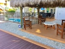 Pool , Chikee Hut , outdoor pool Shower downstairs table and chairs