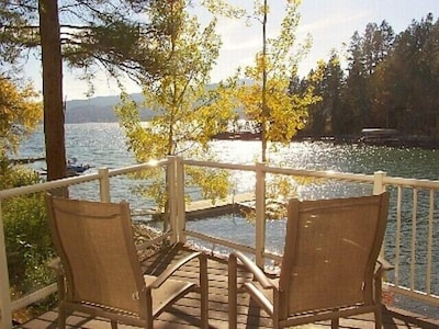 Enjoy the Lake Front from Your Own Private Second Story Deck