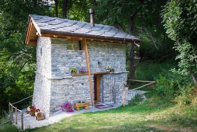 La Magdeleine, Val d'Aoste, Italie
