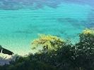 Villa 3 et vue plongeante sur les tortues
