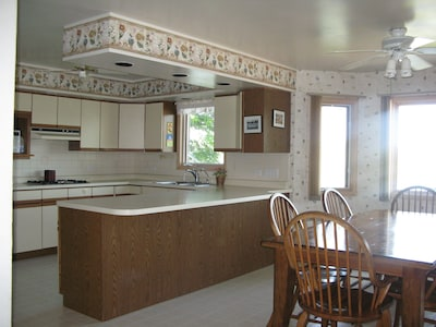 Eat in Kitchen with plenty of counter space and storage