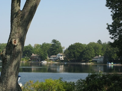 Lake house views