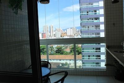 Apartamento super confortável no Canto do Forte/Boqueirão - Praia Grande