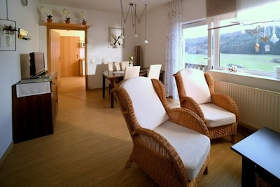 Moderne 3-Sterne-Ferienwohnung mit romantischem Flair, in Strand- und Seenähe