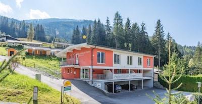 Nockalm-skilift, Bad Kleinkirchheim, Karinthië, Oostenrijk