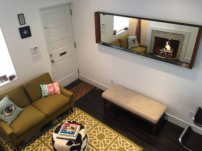 View of first floor living area