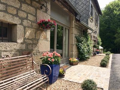 Bahnhof Bugeat, Bugeat, Département Corrèze, Frankreich