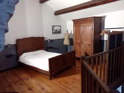 Chambre, mezzanine