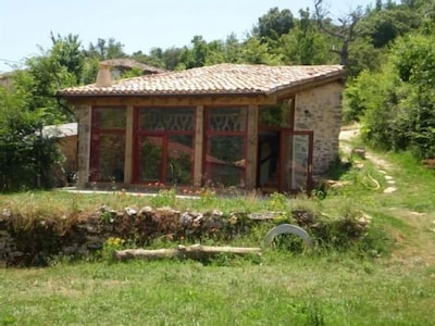 Casita rural independiente (alquiler íntegro) para 2 personas