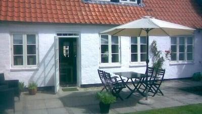 Ribehus Slotsbanke, Ribe, Syddanmark, Denmark