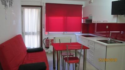 Bueu: Apartament-estudio en una casa a 300 metros de la playa